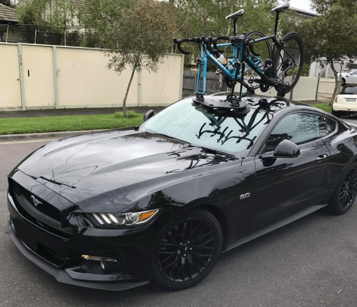 Ford Mustang Bike Rack